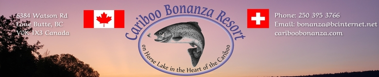 Cariboo Bonanza Resort on Horse Lake in the Cariboo